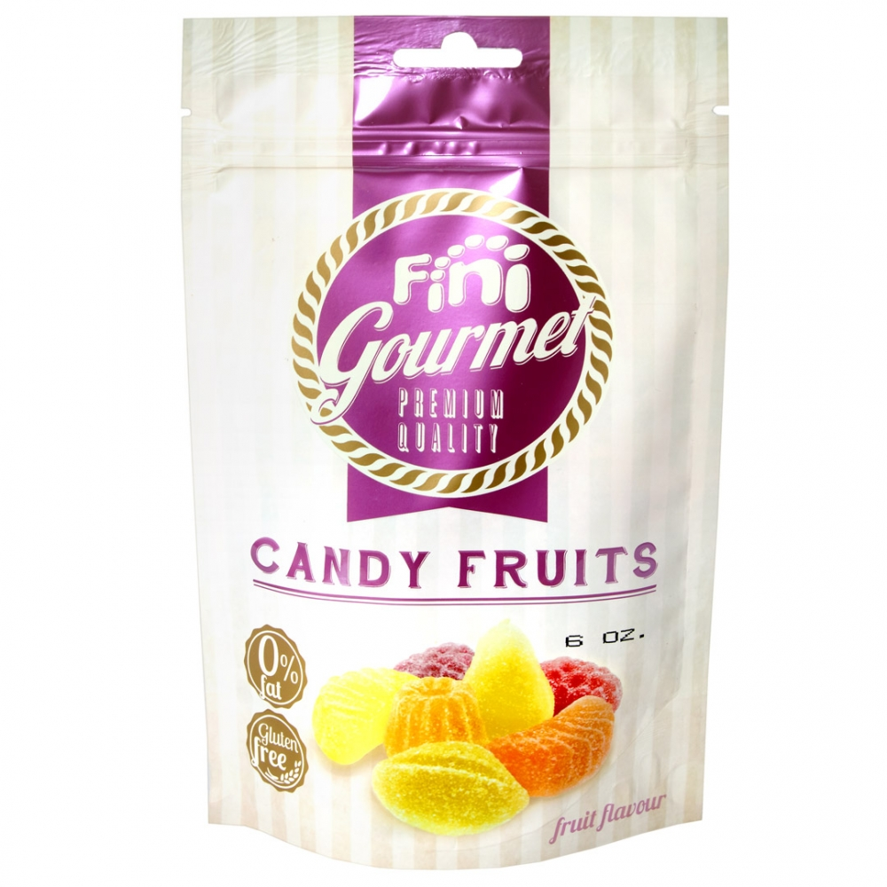 Mimi's Sweets Sugar Candy Fruit Delicious fruit gummies - a gourmet treat on the go!