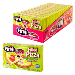 Mimi's Sweets Filled Pizza Box Dinner as dessert - pizza-shaped treats with delicious sweet filling!