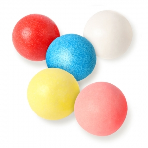 Mimi's Sweets Assorted Color Bubble Gum Balls Delicious gum balls in an variety of awesome colors - make today happy!