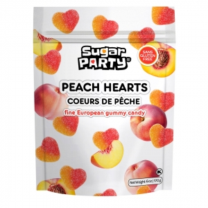Mimi's Sweets Peach Hearts Awesome peach hearts in a convenient new size!