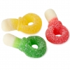 Mimi's Sweets Sour Assorted Dummies Chewy and sour gummies in a fun pacifier shape!