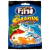 Mimi's Sweets Clear Sharks Chewy shark-shaped gummies in a delicious variety of colors.