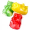 Mimi's Sweets Assorted Clear Twist Gummy Bears Large and colorful gummy bears with a sweet twist!