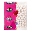 Mimi's Sweets Silver Bubble Gum Balls Great gum balls in sparkling silver - upgrade your day!