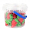 Mimi's Sweets Wild Strawberry Drums Soft and chewy strawberry-flavored gummy candy!